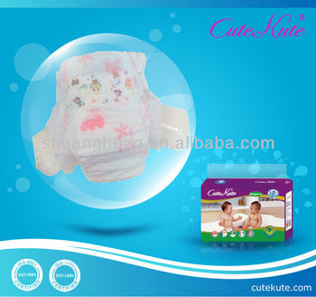 Economic baby diaper from China