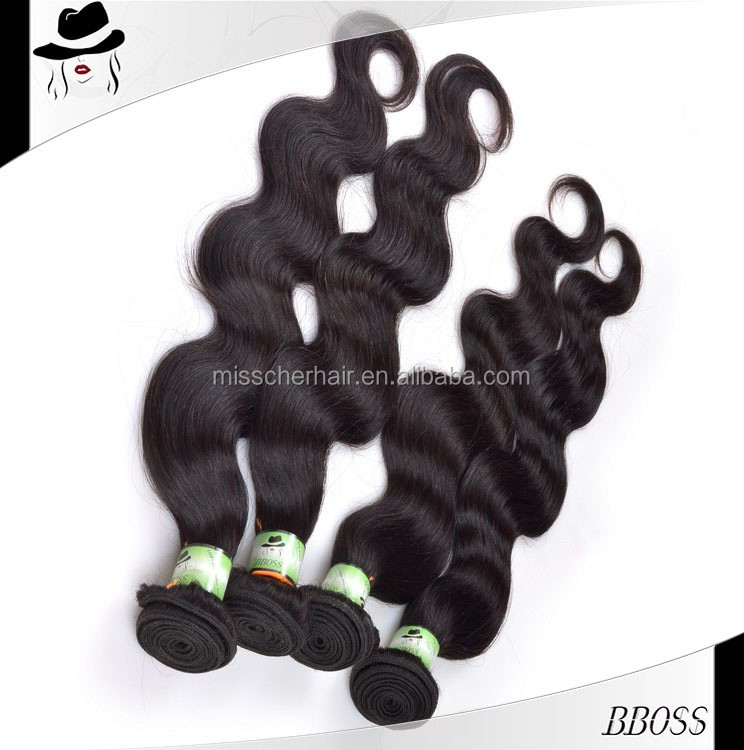 HAIR EXPORTERS No-processed red color indian remy human hair weaving
