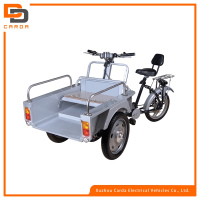 special electric tricycle rear axle with seat for passenger or cargo