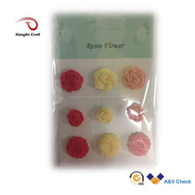resin christmas ornaments artifical flower rose resin product
