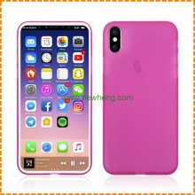 Ultra thin soft pp cover phone case for iphone X