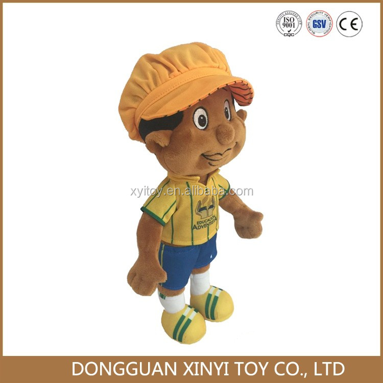 OEM cute design high quality custom plush dolls