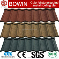 insulated corrugated steel roof /steel gray granite slab /decorative garden brick