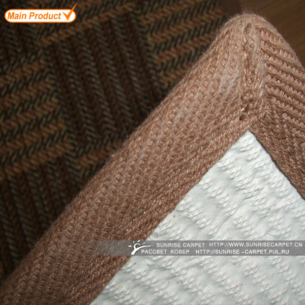 Healthy Home Eco-friendly Latex Back Jute Sisal Carpet