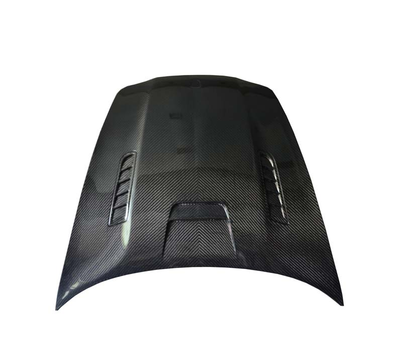 Full Carbon Fiber Mansori Style Body Kits Hood For Panamera 970