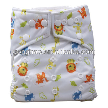 All In One Baby Cloth Diaper