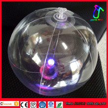 Led Flashing Light Up Inflatable Beach Ball