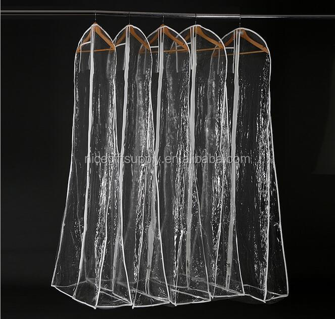 Wholesale Transparent Wedding Dress Garment Bag