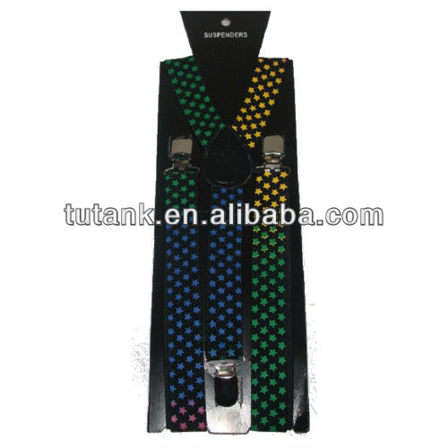 Wholesale Adjustable man Belt Suspenders