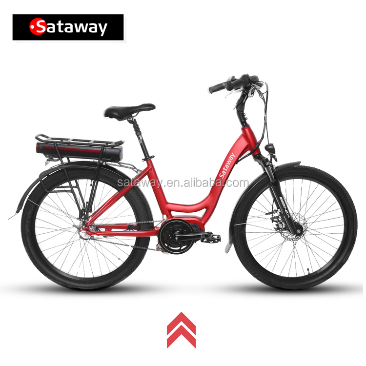 Sataway high quality mid motor electric bike bicycle with bafang max drive/e ebike
