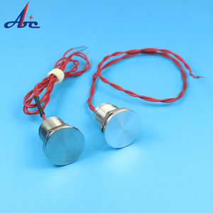 12mm Waterproof Flat Head NO Momentary IP68 Stainless Steel Sealed Piezo Switch Push Button Switch