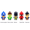 2014 Newest customized bulk superhero usb flash drives shenzhen factory, usb flash drive skin wholesale in dubai market LFN-064
