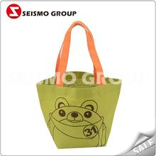canvas shopping bag with heart-shaped figure bags online jute shopping