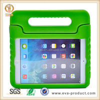 Kid Safe Soft Foam Green Case for iPad Mini with Handle