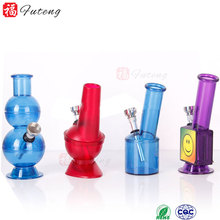 China factory Colorful hookah filter dry herb pipes Plastic tobacco pipe