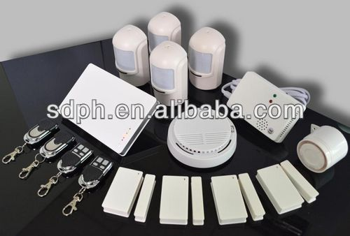 APP Available For Smart Phones GSM Burglar Intruder Alarm System in Small Kit/Big Kit G1