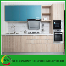 Low price melamine kitchen cabinet