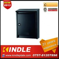 Kindle low cost commercial lockable customized stone mailbox with 31 years experience