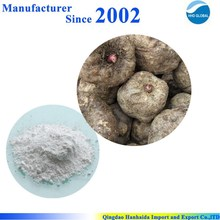 GMP factory supply pure natural Konjac root extract powder, Konjac root P.E.