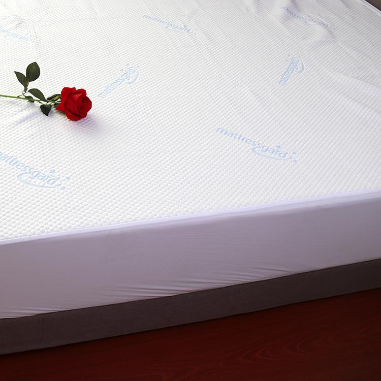 Durable pcm cooling fiber jacquard waterproof mattress protector cover - Jozy Mattress | Jozy.net