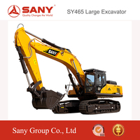 SANY SY465 46.5 ton Mining Construction High Efficiency Large Crawler Excavator of rc Hydraulic Excavator for Sale