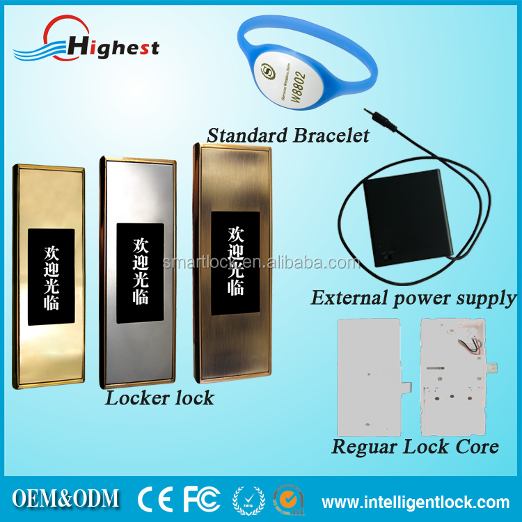 Easy Management Smart Electronic Keypad cabinet lock with master key