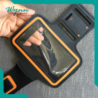 Onsite Checked Convenient armband neoprene cell phone case
