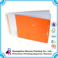 OEM printing PVC cover classmate spiral binding notebook