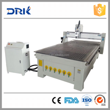 4 axis cnc router 1325 +vacuum table for wood , plastic, MDF