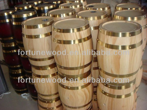 FORTUNE 5 litre decorative mini wooden barrels for wine/beer