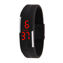 Digital Silicone Watch with Cheap Price