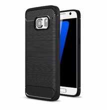 high quality carbon fiber protective tpu phone case for samsung galaxy s7