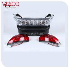 LED Complete Light Bar Bumper Kit for Electric Club Car Precedent Golf Carts