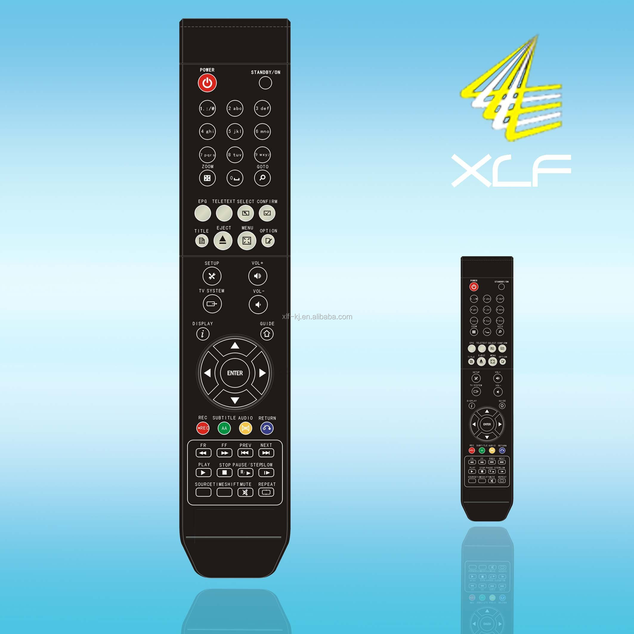55 keys learning function supra tv remote control in high quality