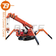 Spider Mini China Hydraulic Crane with CE and ISO Certificates