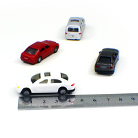 plastic car scale model for architectural building making / forklift scale models / top model car