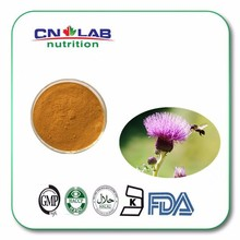 Natural water soluble Silybum marianum/Milk Thistle Extract powder 80% silymarin , liver health