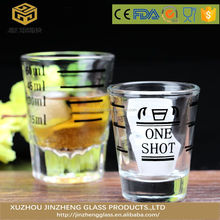 mini thick bottom shot glass With Customized Logo