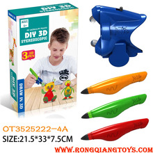 hot 3D DIY interested forming machine <strong>toys</strong> OT3525222-4A
