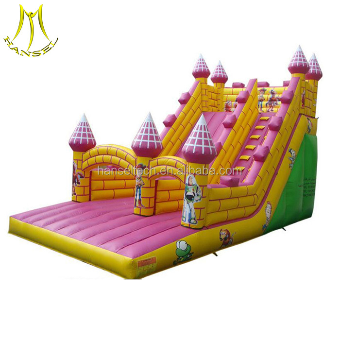 Hansel custom slip with inflatable slide and giant inflatable water slide for adults wth cheap inflatable dunk tank for sale