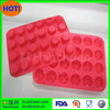 34.5*24*2CM Hot Sale Mini Muffin Cup 24 Cavity Silicone Soap Cookies Cupcake Bakeware Pan Tray Mould Home DIY Cake