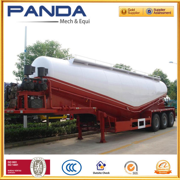 cement truck powder semi trailer/ bulk cement tractor trailer /cement carrier for sale