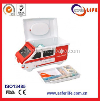 SL-023 Emergency Car Styling Travel Strong ABS Ambulance First Aid Kit