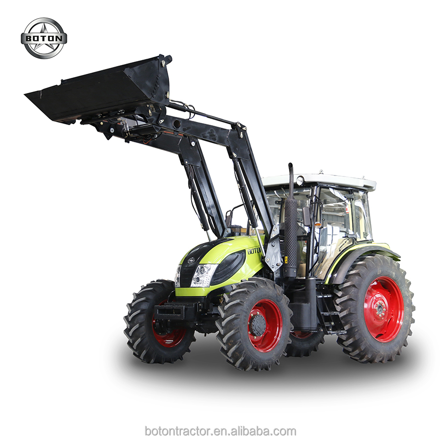 WHEELED TRACTOR BOTON 130HP4WD 1304 DEUZT ENGINE WITH FRONT LOADER FOR SALE