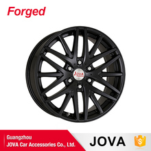 all black performance lightweight sports car rims
