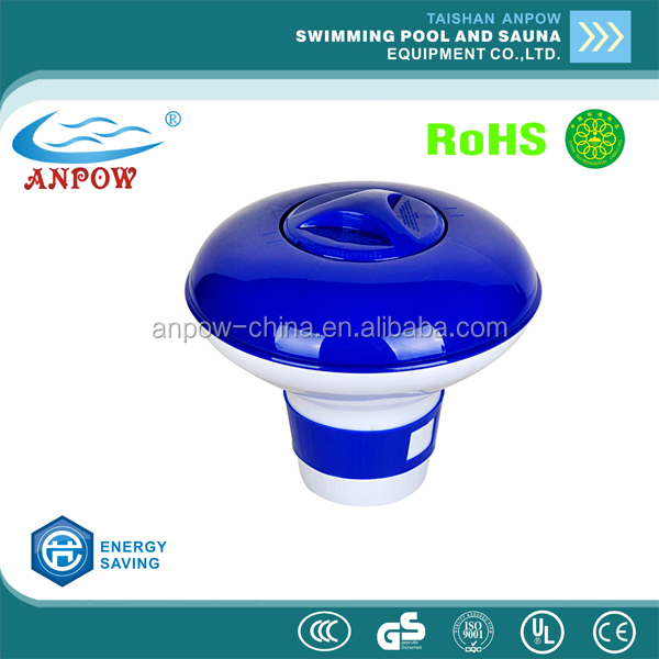 ANPOW factory wholesle good price pool equipments pool accessories plastic chemical dispenser