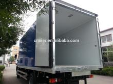 animal transport semi trailer truck 2 ton refrigerated box
