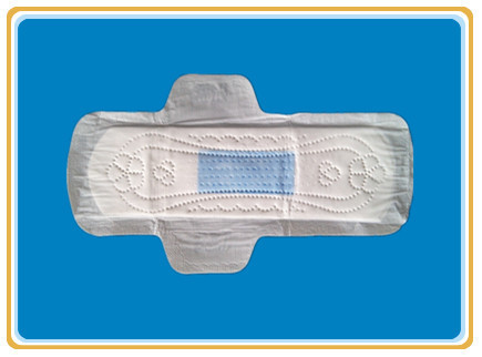 blue core sanitary napkins with 270mm length