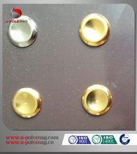 High Quality Gold Coating Neodymium Disc Magnet