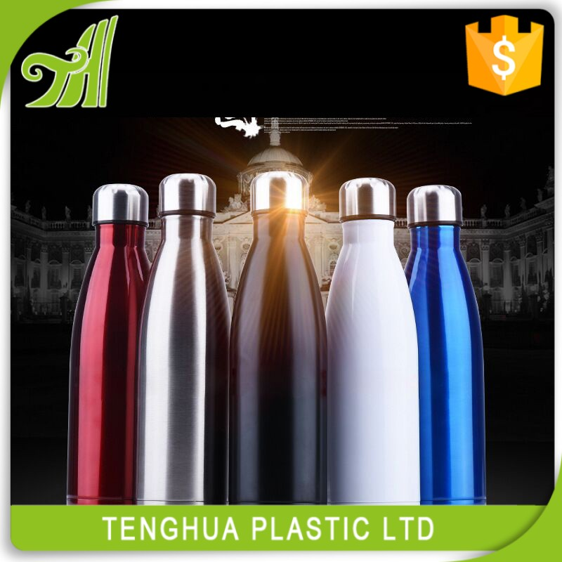Custom Logo&Color Bowling Bottle Stainless Steel Tumbler Thermos Drink Water Bottle